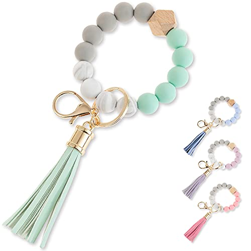 (50% OFF) Silicone Bead Key Chain Wristlet $6.99 – Coupon Code