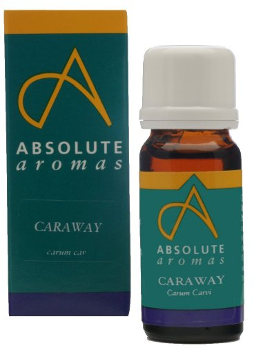 Absolute Aromas Huile Essentielle de Cumin des Prés (Carum carvi) 10 ml - 100% Pure, Naturelle, Non Diluée, Vegane et Sans Cruauté - Pour une utilisat