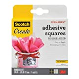 Scotch Brand 009-1000-CFT Scotch Photo Splits Double-Sided Adhesive Mounting Squares, 0.45 by 0.45-Inch