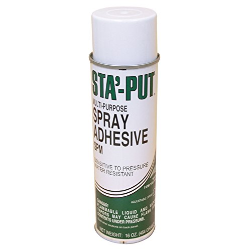 AP Products 001-SPM16ACC Sta-Put Multi-Purpose Spray Adhesive