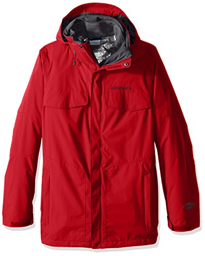 Columbia Men's Big Bugaboo Interchange Jacket, Mountain Red, 3X