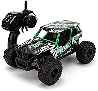 STOTOY Remote Control Car,High Speed Off Road Monster RC Truck - 1/16 Scale 2WD 2.4Ghz Radio Controlled Electric Truggy - Best Gift for Kids and Adults(Green)