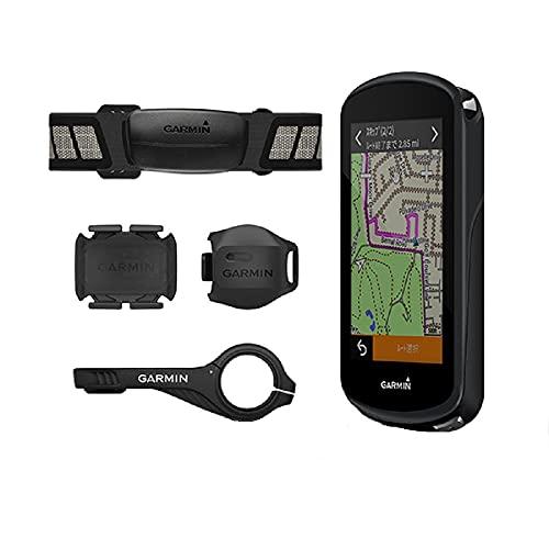 ガーミン エッジ(Edge) 1030plus 日本版 スピード ケイデンス 心拍センサーセット タッチパネル GPS ブルー...