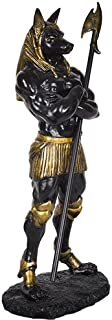 Pacific Giftware PTC 11 Inch Anubis Egyptian Mythological Creature Statue Figurine