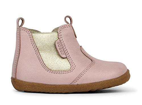 Bobux Step Up Jodhpur Boot – Première étape – Une chaussure en cuir de semelle souple - Multicolore - Scintillement de coquillages, 20 EU EU
