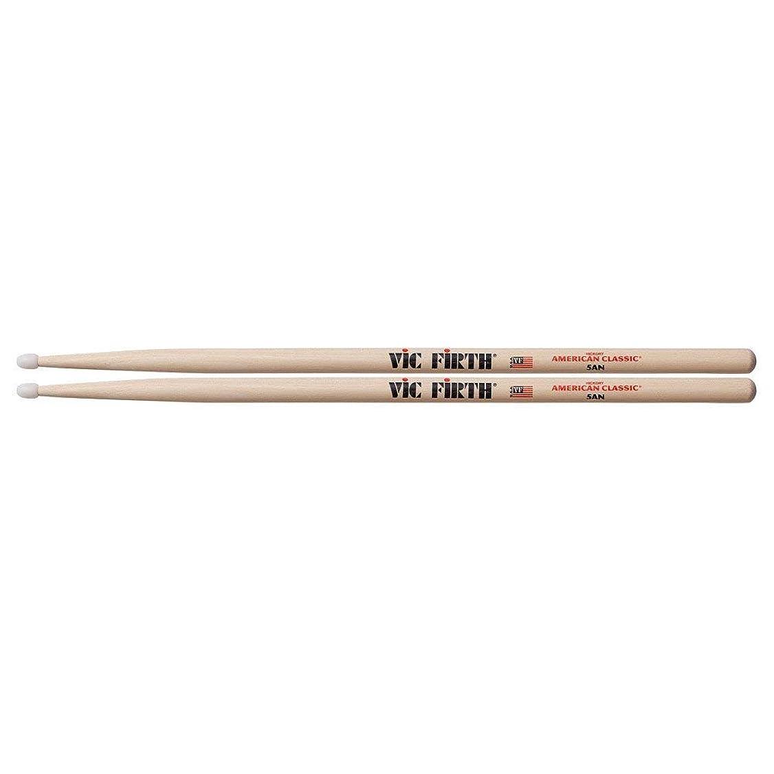 ギャザー技術森VIC FIRTH AMERICAN CLASSIC (Nylon Tip Model) ドラムスティック VIC-5AN