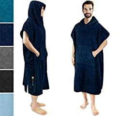SURF CHANGING PONCHO Made of 100% microfiber polyester | Doubles as a fully absorbent towel for drying off after surfing or swimming, keeping you cozy, warm, and dry. PERSONAL CHANGING ROOM Ideal for discreet modest changing in public places | Suitab...