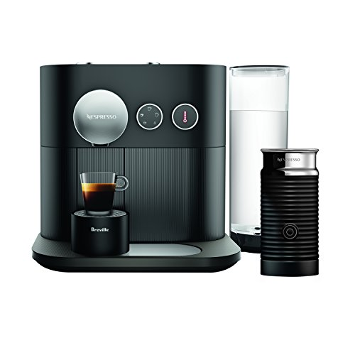 Breville-Nespresso USA BEC750BLK Expert  with Aeroccino3, Black Espresso & Coffee Maker