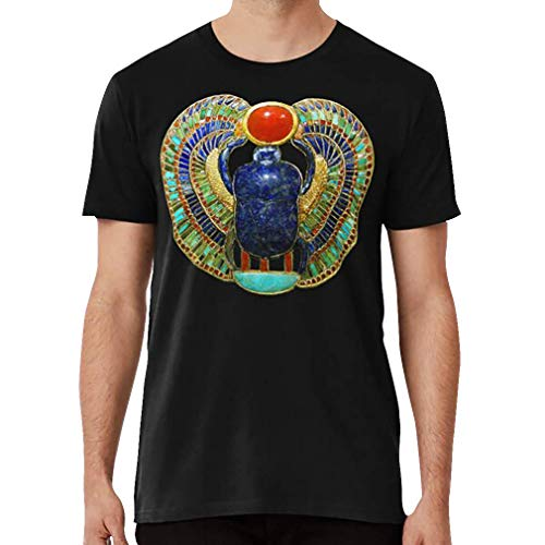 Ancient Egypt Funerary Amulet in The Shape of A Scarab T Shirt, Sweatshirt, Hoodie for Men, Women Full Size.