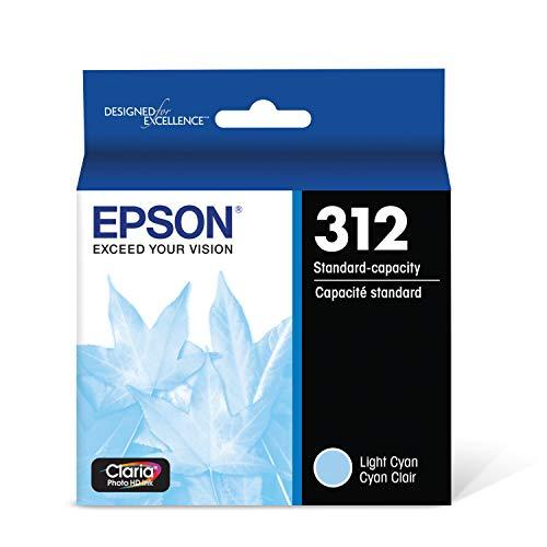 Epson T312520 Claria Photo HD Light Cyan Standard Capacity Cartridge Ink
