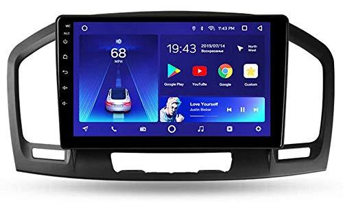 LINNJ Android 9 Autoradio Navigatore per Auto Stereo per Auto Display Touch da 9 Pollici Supporto per Lettore multimediale per Auto Specchio per Opel Insignia 2008-2013