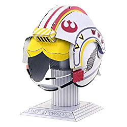Professor Puzzle presents the Luke Skywalker's Helmet Metal Model by Fascinations Metal Earth. Fascinations Metal 3D Models / Metal Jigsaw Puzzles require No Glue or Solder. - Instructions Inside & pliers recommended. Develop your craft skills follow...