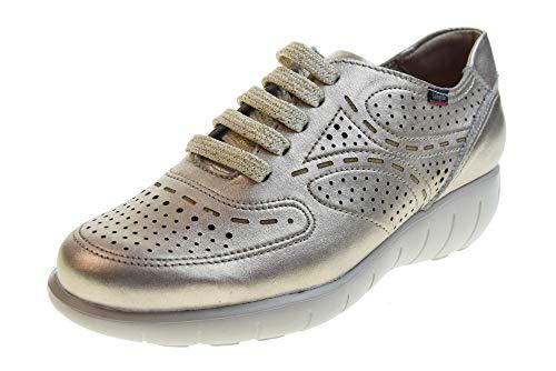 CALLAGHAN Zapatos de Mujer Zapatillas 11609 Gold Talla 37 Oro