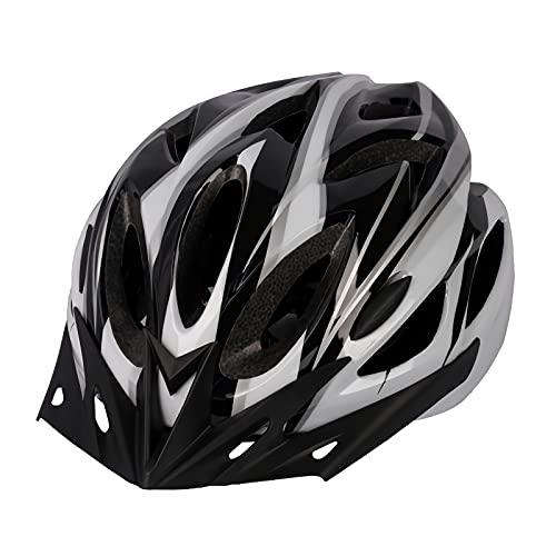 Bgersal 自転車ヘルメット 大人用 ロードバイク サイクリング ヘルメット 超軽量 高剛性 ヘルメット通気 サイズ 通勤通学用 男女兼用 サイクルヘルメット 中学生|高校生|レディース|メンズ サイクリングヘルメット サイズ調整可能 57-63cm