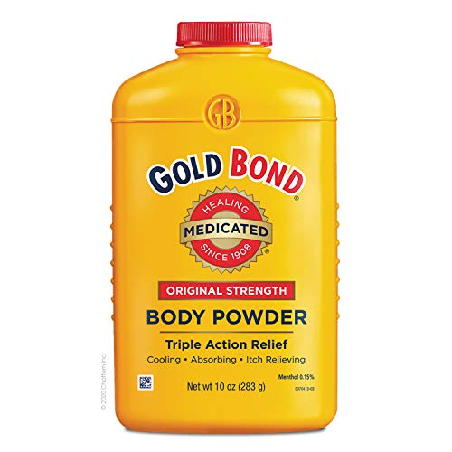 Gold Bond Medicated Powder, 10 Ounce (Pack of 3)