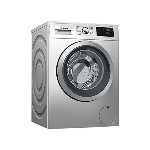 Bosch Serie 6 WAT2876XES Independiente Carga Frontal 8kg 1400RPM A+++-30% Acero Inoxidable Lavadora - Lavadora (Independiente, Carga frontal, Acero inoxidable, Giratorio, Izquierda, LED)