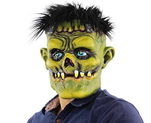 Tcbz Máscara de látex para Halloween, máscara de Hulk, máscara de Zombie de Cara...