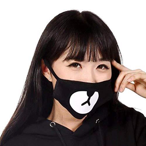 TUANTUAN 8 Pack Panda Bear Mouth Mask Anti-Dust Cotton Face Mask Respirator
