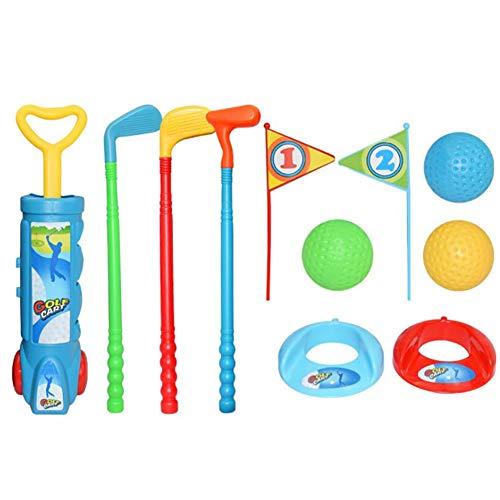 luckything Golf-Set Kinderspielzeug, Kinder Golfset Mehrteilig, Kindergolf, Golfgeschenke Golfartikel Golfzubehör Kinder Übungsgolf-Golfset
