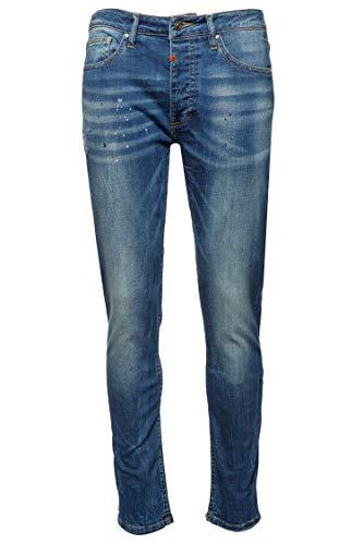 Tigha Herren Jeans Morty Blau 33/34
