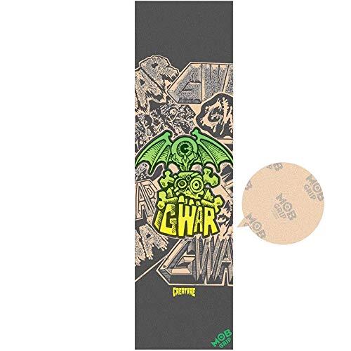 モブグリップ MOB GRIP デッキテープ CREATURE GWAR CLEAR GRIP TAPE 9X33 NO189