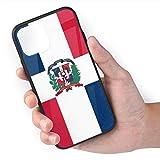 ZARLAY Cajas del teléfono de la Bandera de la República Dominicana para iPhone 11 Cell Mobile Shell Back Cover Case