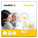 Medela Swing Flex sacaleches eléctrico simple, extractor de leche con embudo...