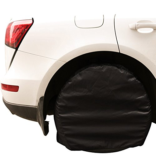 Dreamerd 66- 73,7cm rotella di ,4pezzi di nylon della protezione per auto, camion, Jeep, SUV, roulotte, camper, RV