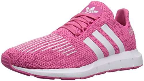 adidas Originals Unisex-Kid's Swift Running Shoe, semi Solar...