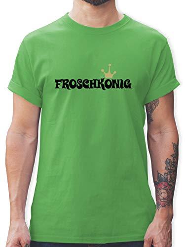Karneval & Fasching - Froschkönig - L - Grün - L190 - Tshirt Herren und Männer T-Shirts