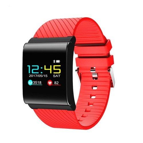 Smart band X9 Pro activity tracker fitness cardiofrequenzimetro pressione sanguigna rosso