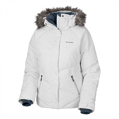 Columbia Damen Lay D Down Jacket, White, XL, WL4047