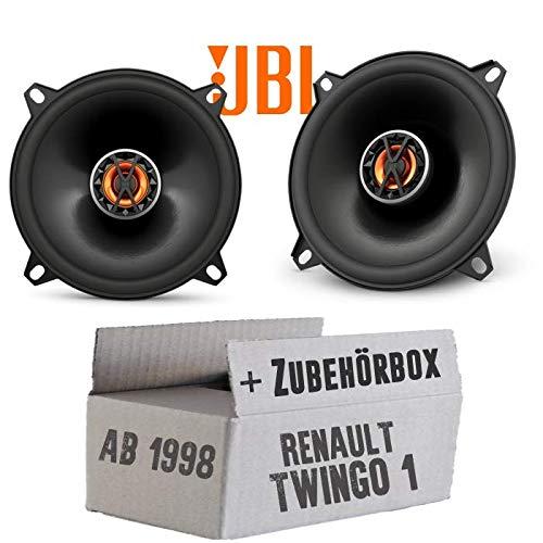Renault Twingo 1 Phase 2 Front - Lautsprecher Boxen JBL Club 5020 | 2-Wege | 13cm Koax Auto Einbausatz - Einbauset