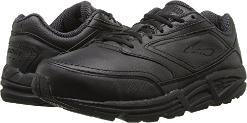 Brooks Men 's Addiction Walker Walking Zapato, color negro, talla 9 B
