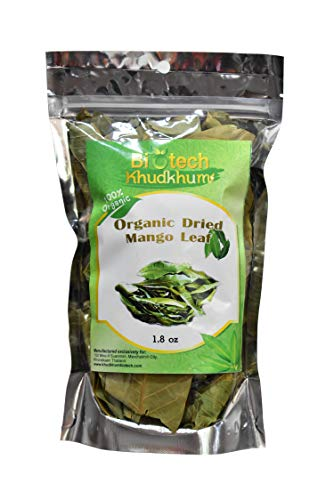 Organic Dried Mango Leaves 1.8Oz (50g) for Tea