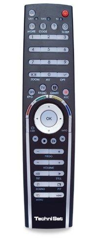 TechniSat Komfortfernbedienung für DigiCorder HD S2 Plus schwarz