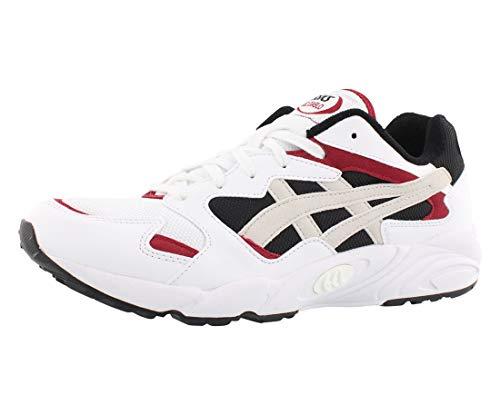 ASICS Tiger - Zapatos de hombre de gel y diablo, 13 m, blanco/blanco
