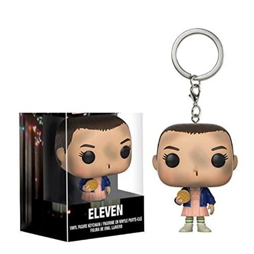 Figuras Pop Stranger Things & Eleven Llavero Figura De Acción PVC Juguetes De Modelos...