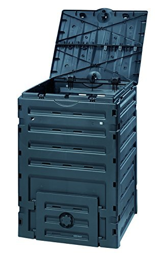 For Sale! Exaco 628001 Eco-Master Polypropylene Composter, 120-Gallon, Black - Pack of 3
