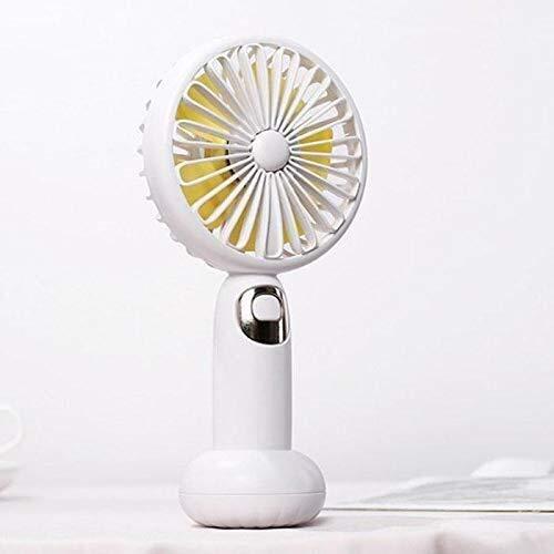 YAOGZ USB-Ventilator-beweglicher Tisch, Schreibtisch, Ventilator, beweglicher Fan, Outdoorhandmini-USB aufladbare Bluetooth Lautsprecher Luftkühler, for Home Office Außen Reisen (Color : A)
