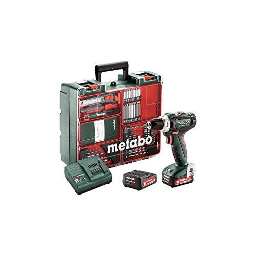 Metabo PowerMaxx BS 12 Set - Elektroschrauber & Schlagschrauber (1400 RPM, 64 dB, 75 dB, 3 dB, Batterie/Akku, 12 V)