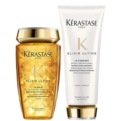 Kerastase Elixir - Pack de baño, champú (250ml) y acondicionador (200ml)