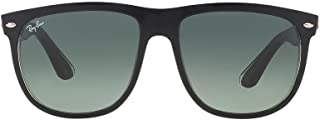 Ray Ban Highstreet Unisex Sunglasses RB4147 603971 Top Black On Transparent 60mm Authentic
