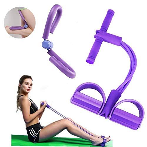 Culturismo Expander elástico Resistencia yoga de la venda de equipos deportivos brazo de la cintura de la pierna ejercitador de dispositivos portátiles Inicio gimnasia para la aptitud de for
