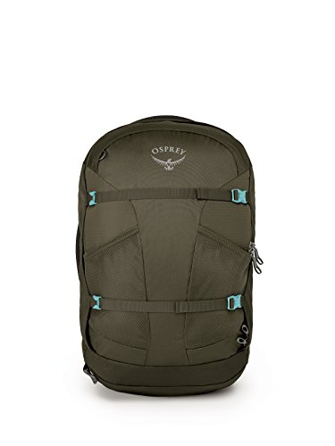 Osprey Packs Fairview 40 Women's Travel Backpack, Misty Grey, X-Small/Small