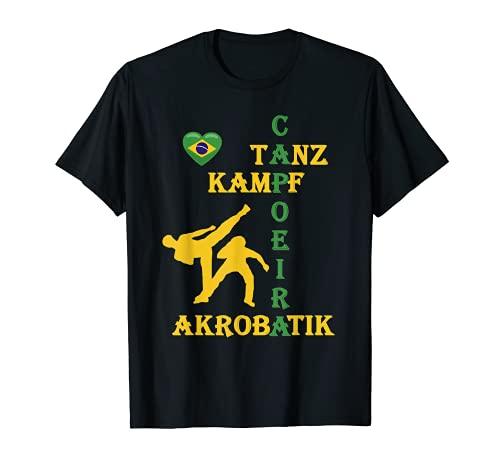 Capoeira Sport Danza Acrobatica Capoeira Fitness Regalo Camiseta