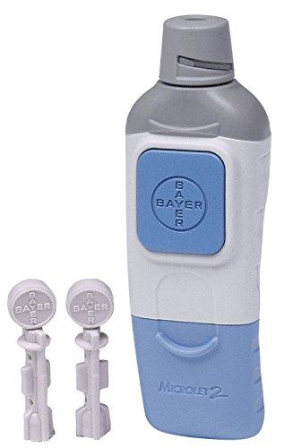 Bayer Microlet 2 Adjustable Lancing Device 1 kit