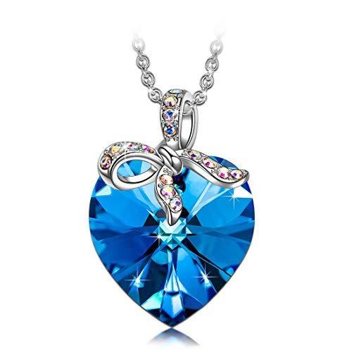 J.RENEÉ Collares Mujer, con Cristal de Swarovski, Joyas para Mujer, Colgantes Mujer, Regalos para Mujer