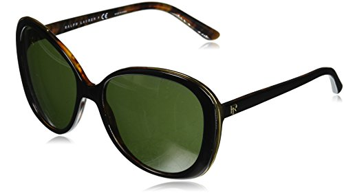 RALPH LAUREN 0RL8166 Gafas de sol, Multicolor (Top Black/Havana Jerry), 57 para Mujer