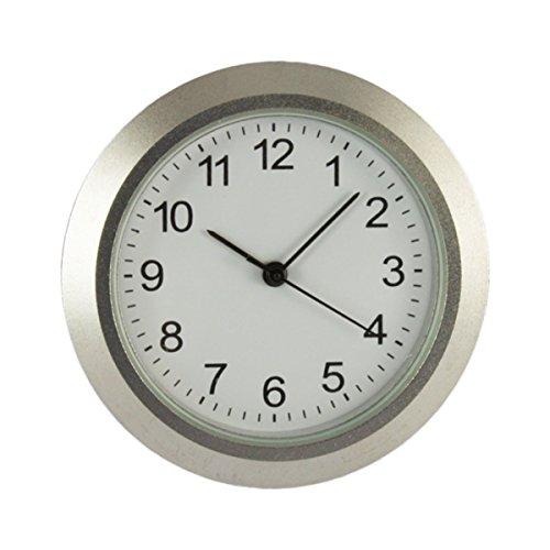 Uhrwerk aus Metall | Einbau-Uhr | Modellbau-Uhr | Quartz Uhrwerk | Ø 36,5 mm | Nr.8067